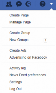 Ads manager se otvara klikom na Create Ads